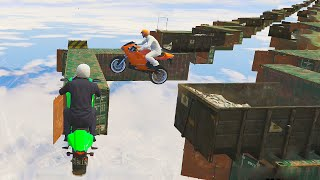 Mile High ZigZag Course! (GTA 5 Funny Moments)