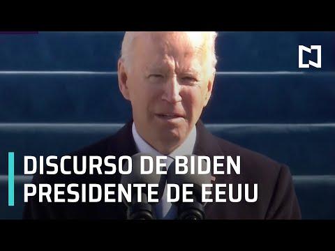 Primer discurso completo de Joe Biden como presidente de EEUU - Las Noticias