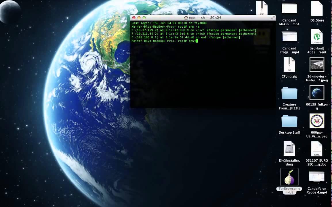SSH OSX Remote Shutdown Turn Off Restart Reboot Other Computer View