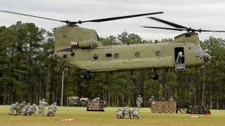 CH-47 Chinook Helicopters Sling Load
