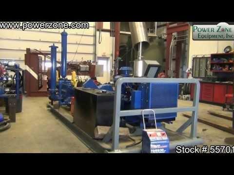 Union TX-90 Triplex Plunger Pump Package Stock 55701