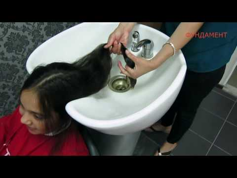 Стрижка на длинные густые волосы DEMETRIUS