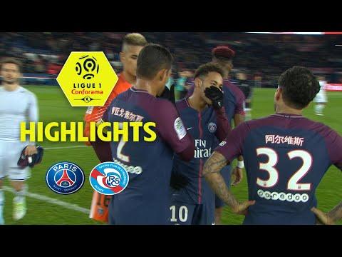 Paris Saint-Germain - RC Strasbourg Alsace (5-2) - Highlights - (PSG - RCSA) / 2017-18