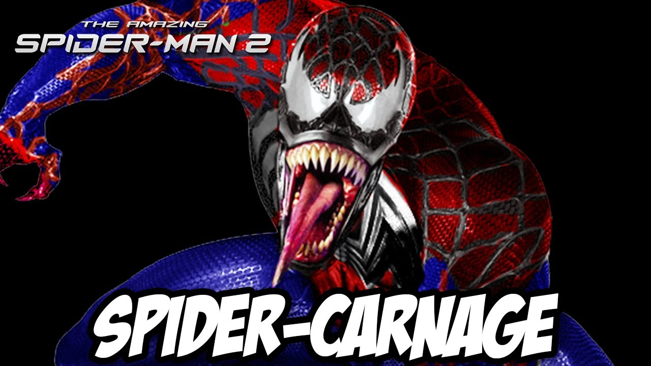 the amazing spider man 2 homem aranha carnificina a roupa secreta