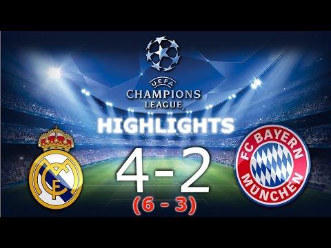 ⚽Real Madryt 1-2 Bayern Monachium - Skrót / Highlights - Champions Leaugue 1/4 Final [18.04.2017]