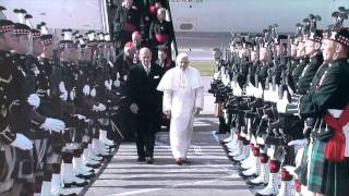 The Arrival of the Pope - Papal Visit to the UK 2010
