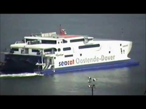 Various Trains, Boats and Sea Cats in Dover - 2000. Escape From Thanet Highlights