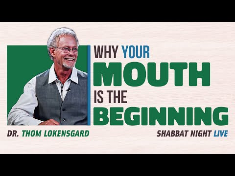 Why your Mouth is the Beginning... (PROMO) | Shabbat Night Live