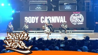 INTERNATIONAL BOTY 2014 - BODY CARNIVAL (JPN) - SHOWCASE [BOTY TV]