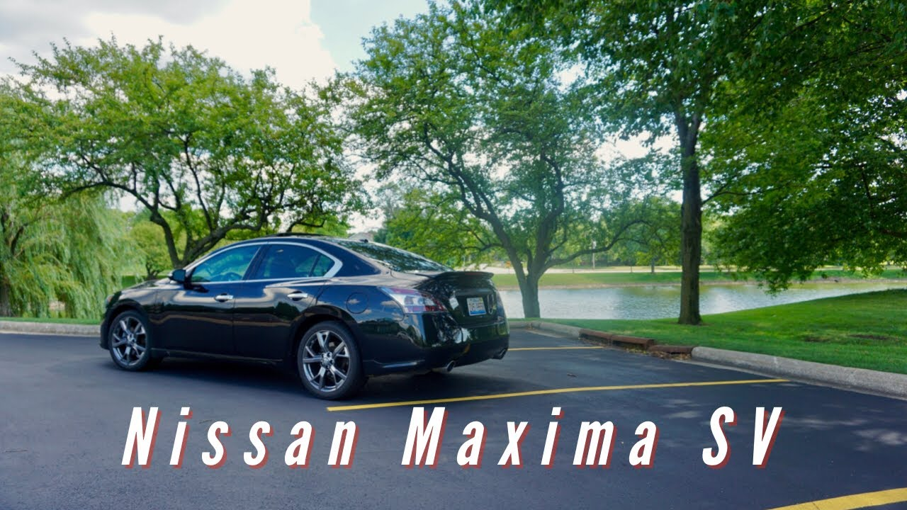 2013 nissan maxima sv review youtube. Black Bedroom Furniture Sets. Home Design Ideas