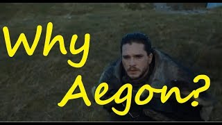 Why is Jon called Aegon? (Game of Thrones)