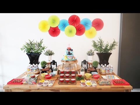 Aniversário Breno 8 anos - festa infantil Pokémon