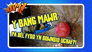 Y BANG MAWR: Pa bêl fydd yn bownsio uchaf?! | Boom! | Kids Science sports ball crane experiment!