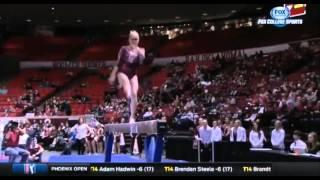 Nicole Lehrmann (Oklahoma) 2016 Beam vs West Virginia 9.875