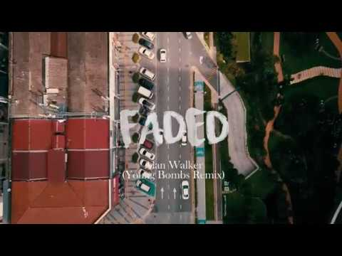 faded - alan walker (young bomb remix) (sam kolder inspired) | DJI MAVIC PRO
