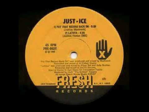 Old School Beats Just Ice - Put that record back on