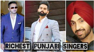 Top 10 richest punjabi singers|richest punjabi singers 2019|Knowledge hoop