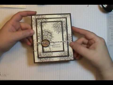 Easy Triple Time Stamping Technique Card YouTube