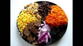 "Салат ""Добрый Муж""/Salad ""good man"""