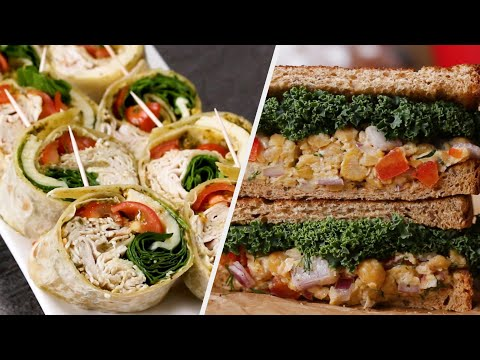Five Packable Work Lunches Loaded With Protein • Tasty