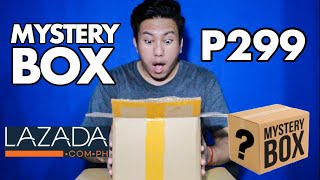 MYSTERY BOX for PHP299 | LAZADA UNBOXING