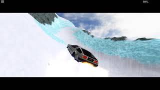 Roblox Vechicle Sim: DMC Delorean Flight Mode Presentation