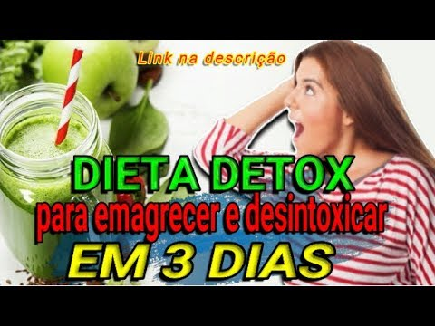 Dieta para desintoxicar 3 dias