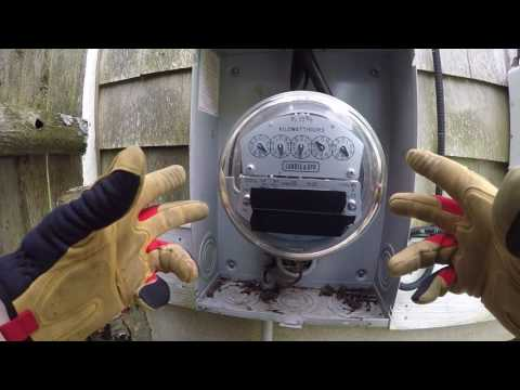 How do I turn my power back on? How to remove and reinstall your meter
