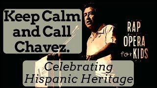 Cesar Chavez Civil Rights for Kids Song - Rap Opera for Kids