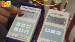 How to use Power Meter And Laser Source for Fiber Optic cables