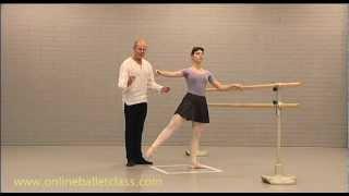 Ballet Lesson - Jete