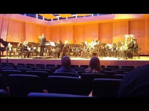 RCC concert band performance