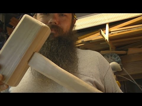My first Attempt at a Wooden Thors Mallet (Fail)