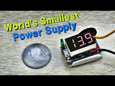 World's Smallest Coinsized Power Supply (Trailer)