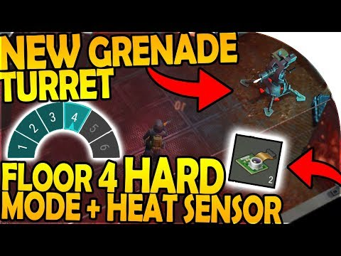 NEW GRENADE TURRET, HEAT SENSOR - BUNKER FLOOR 4 HARD MODE - Last Day On Earth Survival 1.7.9 Update
