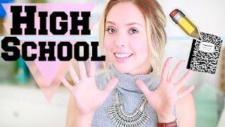 10 Things I Wish I Knew When I Was In High School | Ashley Nichole