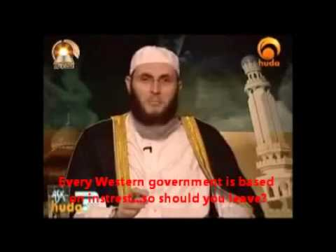 Working in a bank, auto dealership, check cashing, retail store is prohibited in Islam