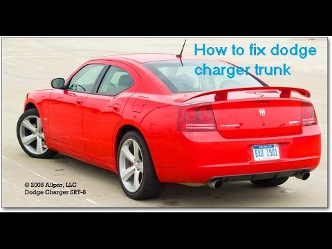 How To Fix Trunk On Fob Dodge Charger
