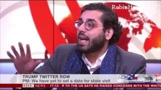 Raheem Kassam hammers the BBC over Donald Trump tweet story