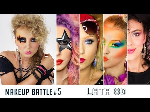 Makeup Battle Bitwa Na Pędzle 5 Lata 80 Youtube