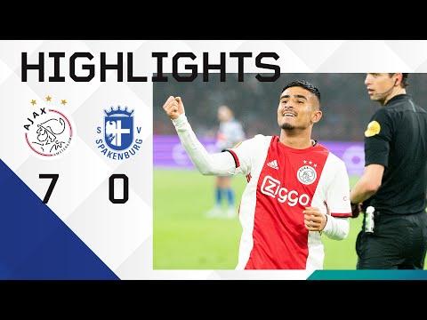 Highlights Ajax - Spakenburg   Ünüvar Debuteert En Scoort!   KNVB Beker
