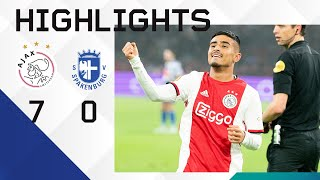 Highlights Ajax - Spakenburg | Scoring debut for Ünüvar! | KNVB Cup