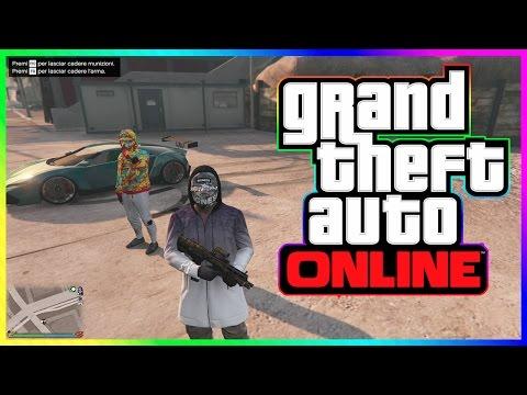 GTA 5 Cazzeggio Online Ita - Annientando Una Sessione (GTA V Online Pc)