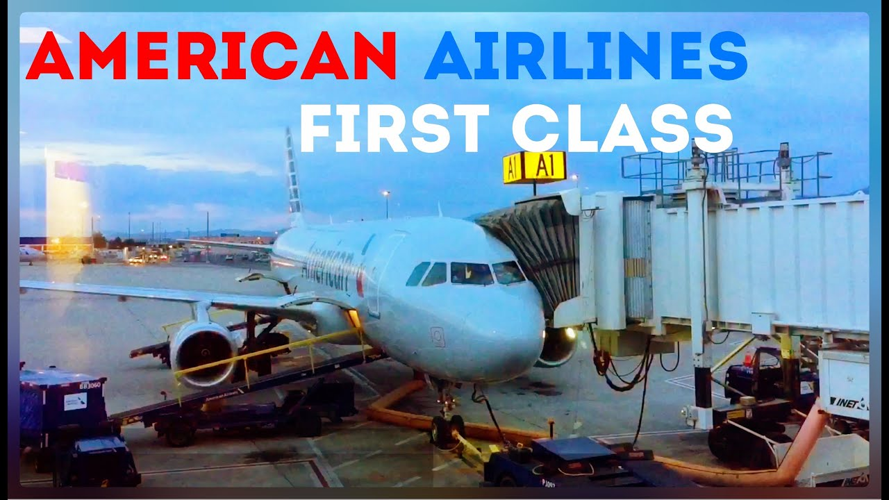 American Airlines First Class Flight Salt Lake City To