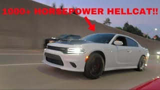 WE RACED THE FASTEST HELLCAT ON THE STREET!! **INSANE**