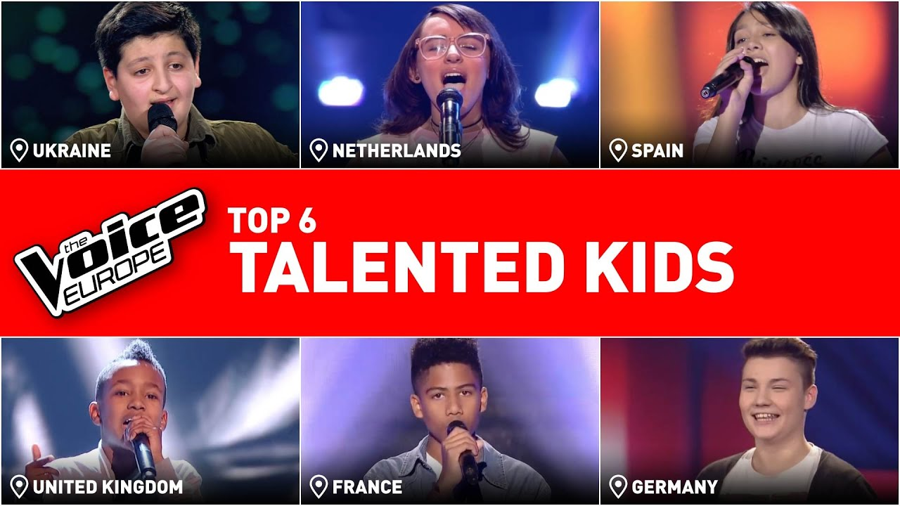 Most TALENTED KIDS in The Voice Kids | TOP 6