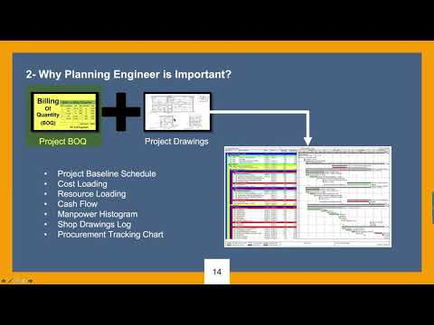 Why Planning Engineer is Important?