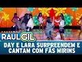 Day e Lara surpreendem e cantam com fãs mirins | Programa Raul Gil (06/05/17)