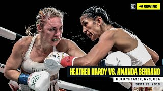 FULL FIGHT | Heather Hardy vs. Amanda Serrano (DAZN REWIND)