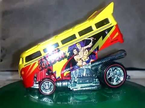 Hot Wheels Pop Culture Flash Gordon Volkswagen T1 Drag Bus